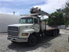 1996 Ford LTS900 Tri/A Crane Truck