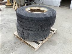 Michelin XYZ3 425/65R22.5 Tires W/Steel Rims
