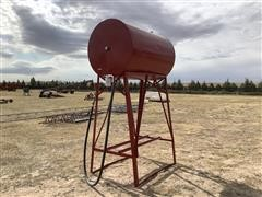 300 Gallon Fuel Tank W/Stand