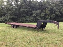 2006 Homemade 30' T/A Flatbed Trailer