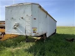 1976 Fruehauf H0-8101-39 Bottom Dump T/A Grain Trailer