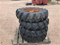 Reinke 11.2X24 Tires On Rims