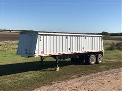 2015 Neville 28' T/A Grain Trailer