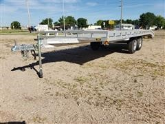 2014 Aluma 1020H T/A Aluminum All-Purpose Trailer