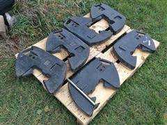 Case IH Front Suitcase Weights