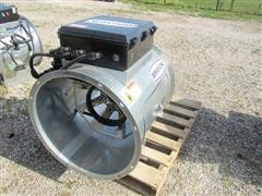 "2014 Brock AXH24-LP 24"" Axial Bin Heater"
