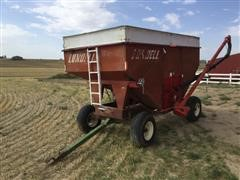 Lundell Gravity Wagon Seed Tender