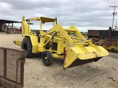 John Deere 410 Loader Backhoe