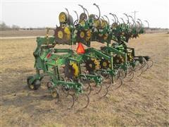 John Deere 845 Danish Tine Row Crop Cultivator