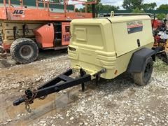 2002 Ingersoll Rand P185WJD Portable Air Compressor