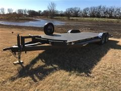 2017 102 Ironworks 24' T/A Flatbed Trailer