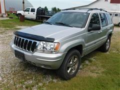 2003 Jeep Grand Cherokee Limited 4 Door Sport Utility