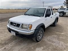 1998 Nissan Frontier 4x4 Extended Cab Pickup