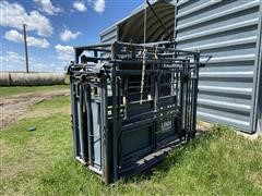 Linn Post & Pipe Automatic Head Gate Squeeze Chute