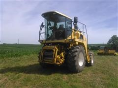 2002 New Holland FX38 4WD Self-Propelled Forage Harvester