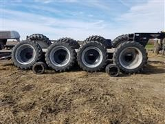 Michelin Agribib 380/80R38 Tractor Rims, Tires, Dish & Spacers