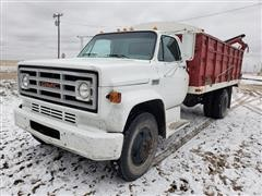 1973 GMC 6000 Grain Truck With Drill Fill Auger