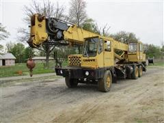 1976 Grove TMS250A Hydraulic Truck Crane