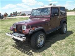 1988 Jeep Wrangler 4x4 SUV