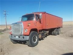 1987 Ford LNT 8000 T/A Grain Truck