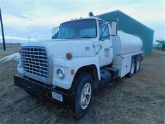 1974 Ford 9000 T/A Water Truck