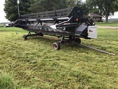 1999 AGCO 825 Flex Platform W/Cart