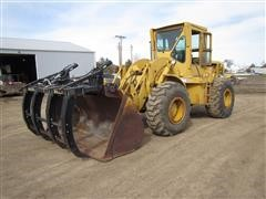 1971 Caterpillar 950 Wheel Loader W/Schagel Grapple