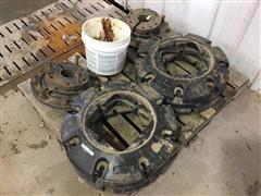 Case IH 5250 Wheel Hubs/Wheel Weights