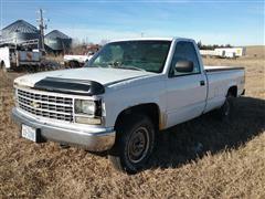1993 Chevrolet K1500 4x4 Pickup