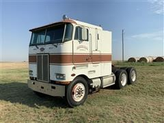 1987 Peterbilt 362 T/A Cabover Truck Tractor