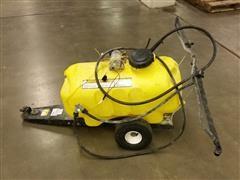 Brinly ST-250BH Sprayer 24 Gallon With Garden Trailer