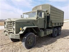 1983 American General M923 6x6 Military 5 Ton Cargo Truck