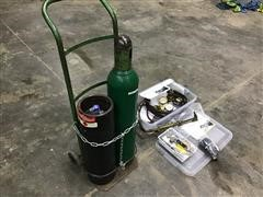 Oxy-Acetylene Torch Set W/Cart