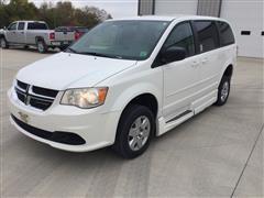 2012 Dodge Caravan Handicap Accessible Van