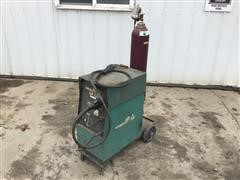 Air Products MP230 Wire MIG Welder On Cart