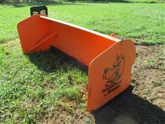 Buyers Snow Box Skid Steer Attachment