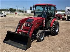 2015 Mahindra 15384CHIL Compact Utility Tractor W/Loader