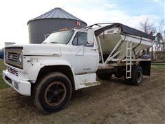 1983 Chevrolet 70 C6500 C7D042 S/A Fertilizer Tender Truck W/Willmar Box For Parts