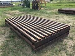 Homemade Shop Built Cattle Guards