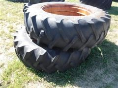 BF Goodrich Power Grip 18.4 X 38 Tires W/Rims