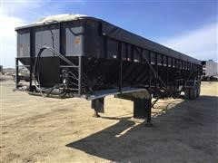 1996 Trinity T/A Live Bottom Trailer