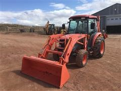 2009 Kubota L3540 MFWD Tractor W/Loader & Backhoe Attachments