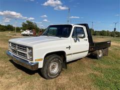 1987 Chevrolet C20 Flatbed Pickup
