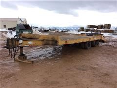 1996 Load King T/A Flatbed Trailer