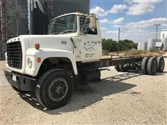 1976 Ford 880 T/A Cab & Chassis