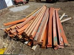 Pallet Rack Side Beams