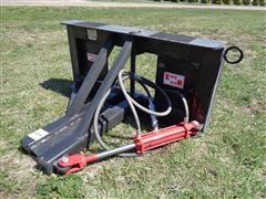 2018 Industrias America Easy Man Tree/Post Puller Skid Steer Attachment