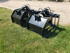 2020 Brute Brush/Rock Bucket Skid Steer Attachment