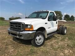 2000 Ford F550 Cab & Chassis