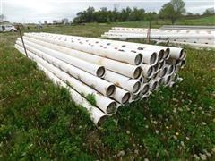 Plastic Gated Irrigation Pipe